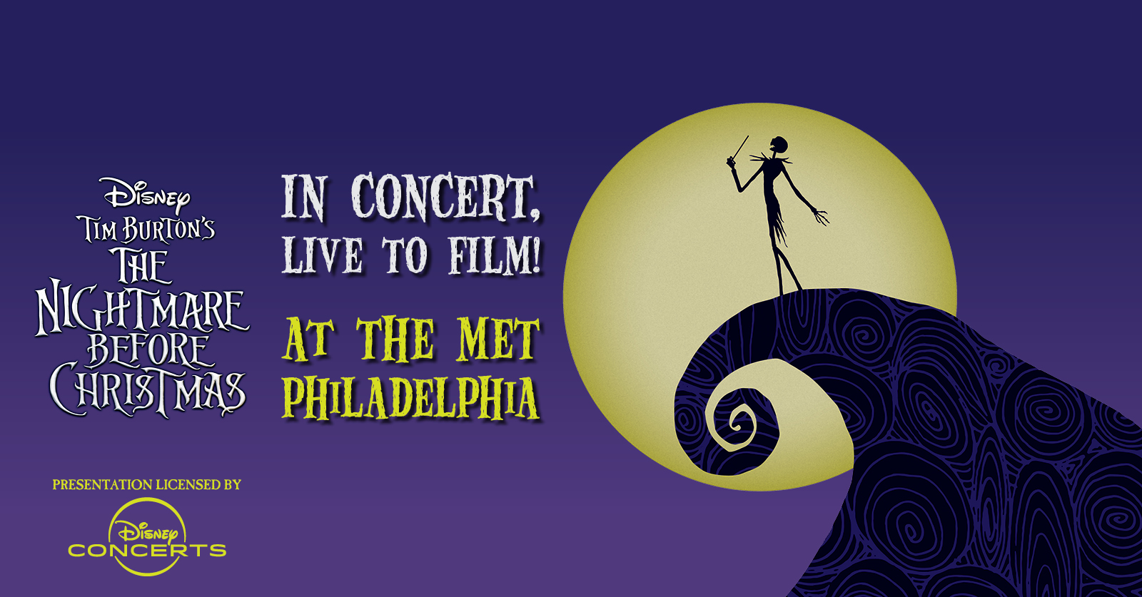 Christmas Shows In Philadelphia 2019.Disney In Concert Tim Burton S The Nightmare Before
