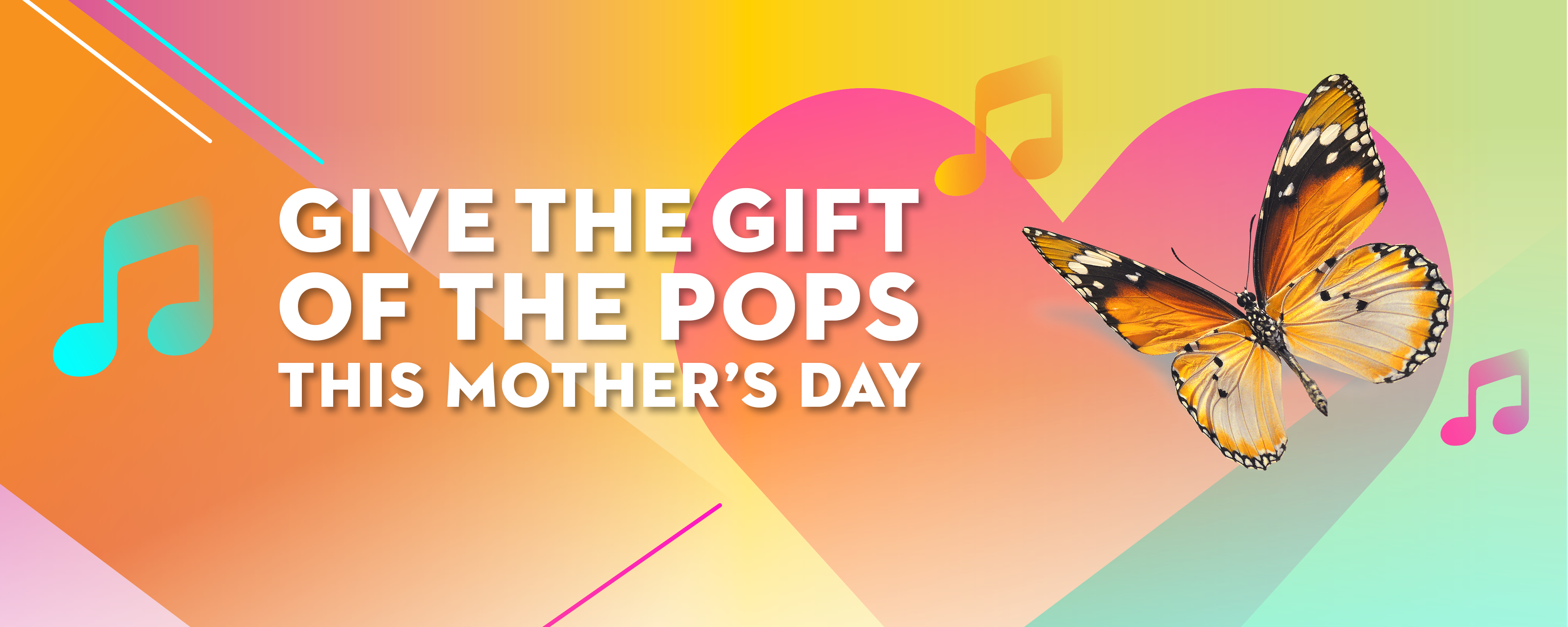 Give the gift of The POPS this Mother's Day!