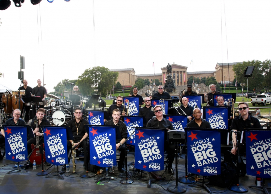 The Philly POPS BIG Band- Wawa Welcome America July 4th Concert and Fireworks